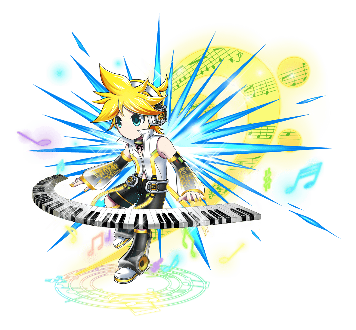 All Crypton VOCALOIDs Now Available in Brave Frontier! - VNN