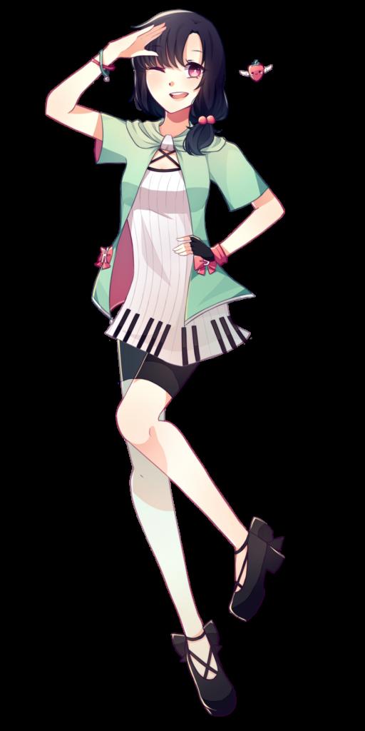 Daisy Hapyon, illustrata da Azumibird
