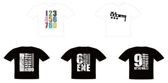 Image of Kagerou Project T-Shirts to be sold at ComiKet 92
