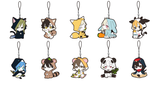 Image of Kagerou Project Straps to be sold at ComiKet 92