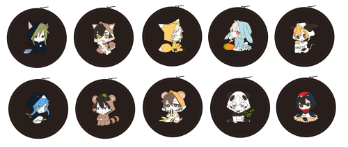 Image of Kagerou Project Coin Cases to be sold by 1st Place at ComiKet 92