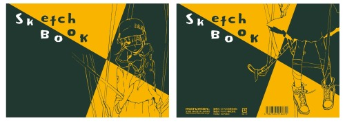 Image of Suzushi Bar Girl Sketchbook to be sold at ComiKet 92