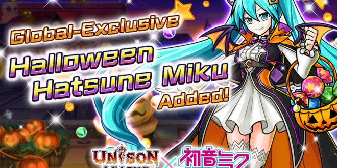 Global Exclusive Halloween Hatsune Miku Available in Unison