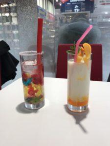 Rainbow Soda and Rin Orange Yogurt