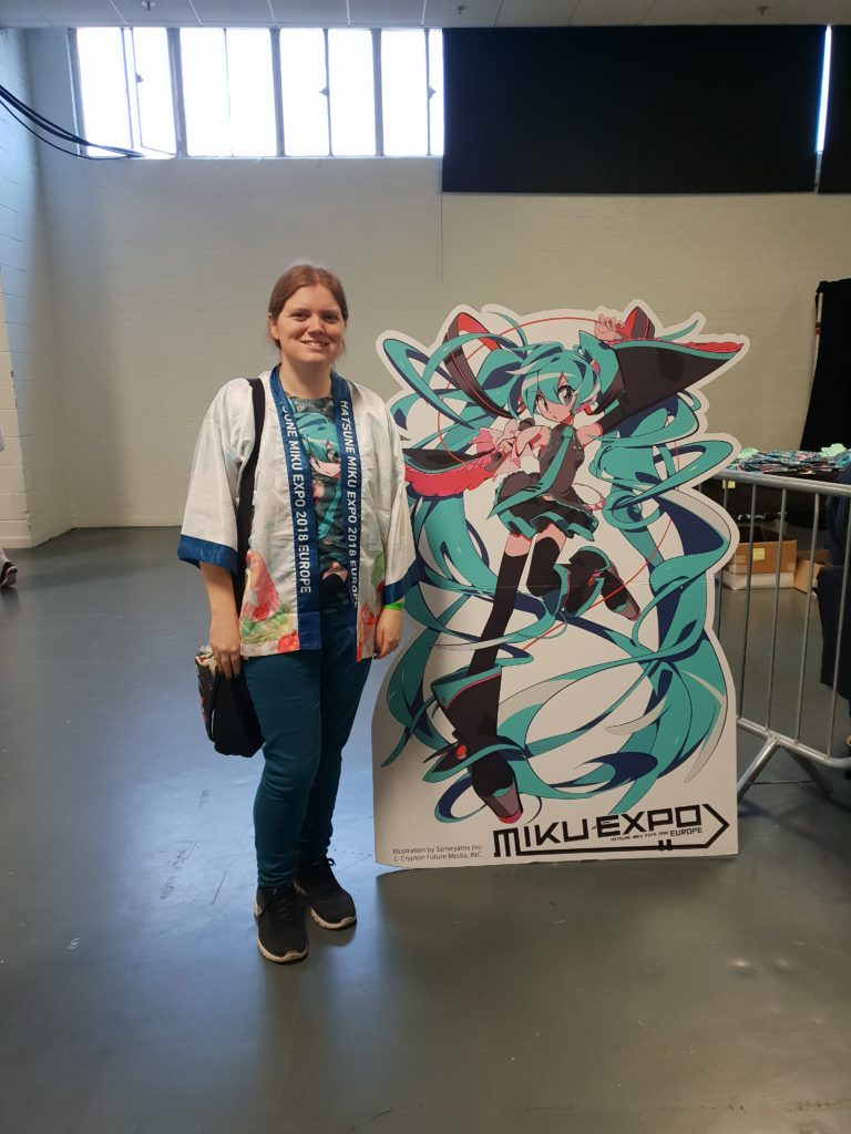 Jade at Miku Expo