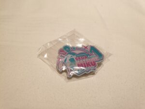 Miku Expo Free Pin Badge