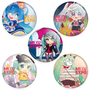 Miku Expo 2020 Button Badges