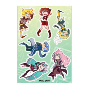 Miku Expo 2020 Stickers